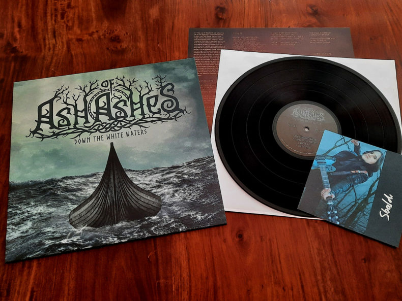 Ash of Ashes - Down the White Waters Black LP