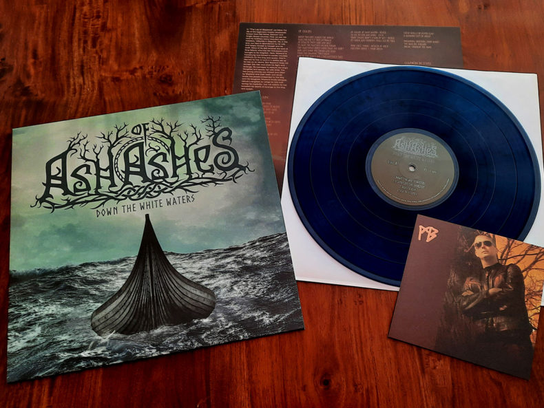 Ash of Ashes - Down the White Waters Blue LP