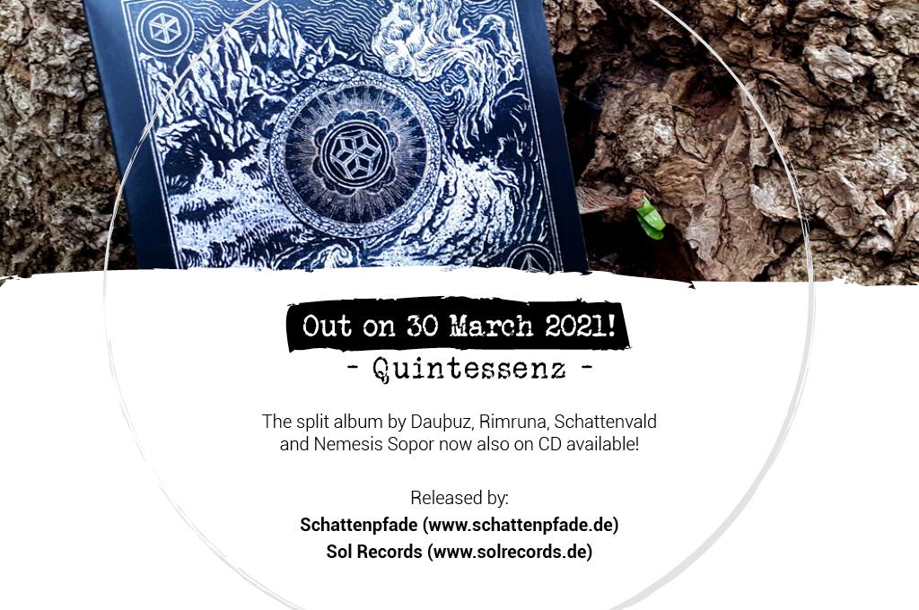 Quintessenz-Split-CD-Flyer