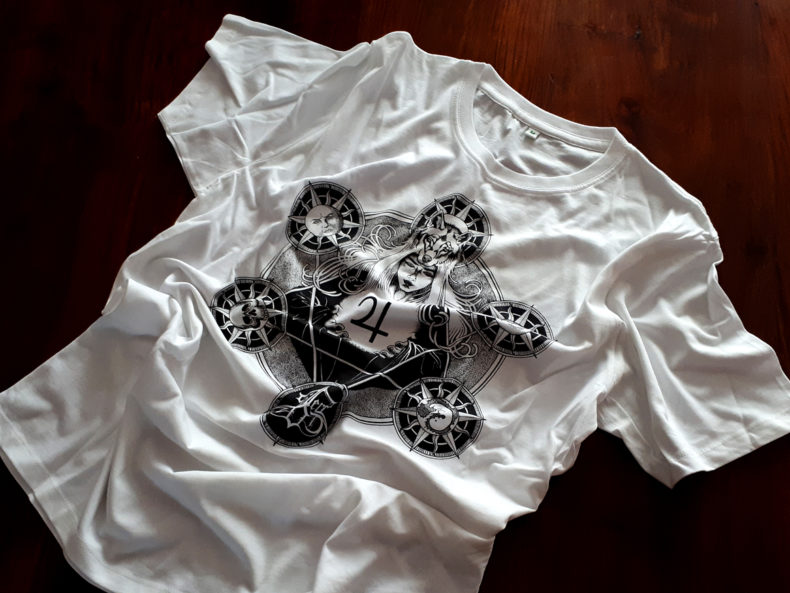 Weißes Stillers-Tod-Shirt